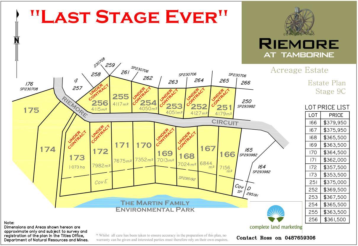 RIEMORE STAGE 9C SALES Plan