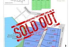 Stage 9A Site Plan Sold Out